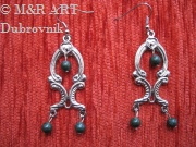 Handmade earrings - Fashion jewelry by Dubrovnik jewelers